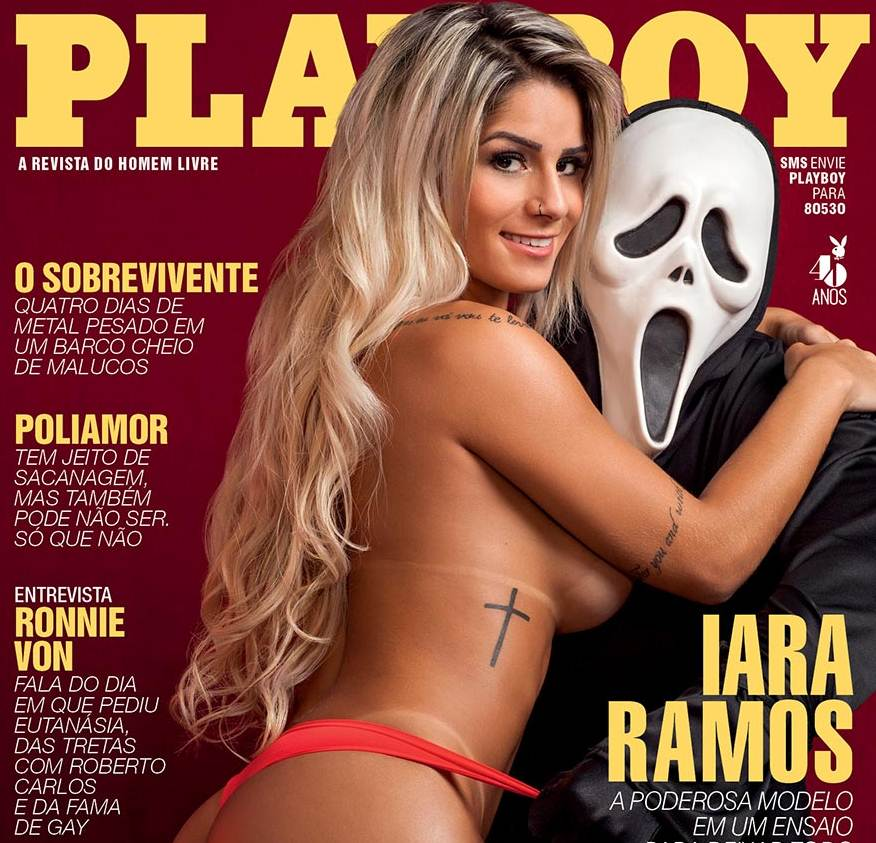 Iara Ramos Do Panico Nua Na Playboy